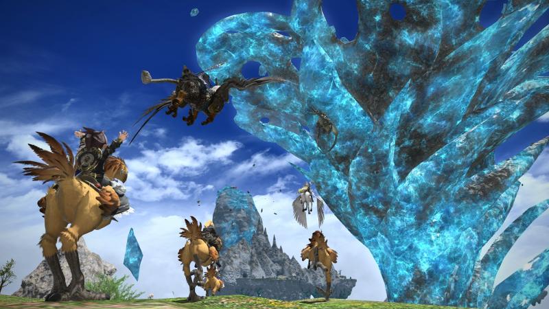 ファイナルファンタジーXIVゲーム画面