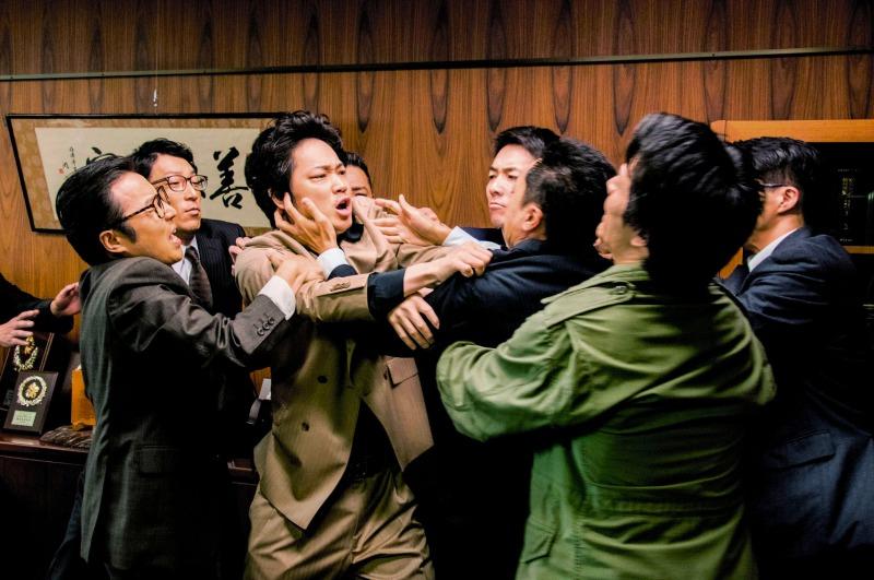 (C)2016「日本で一番悪い奴ら」製作委員会