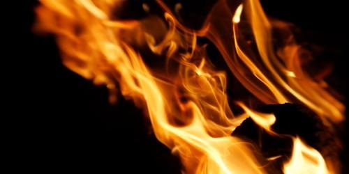 vfxで作成した炎