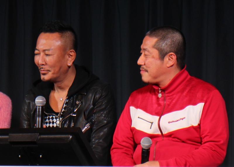 左から名越 稔洋さん、江口カン監督