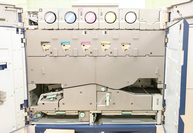 情報印刷株式会社で使われているオンデマンド印刷機